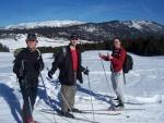Photo-titre pour cet album:Ski de Fond et secours au plateau des Glières, le 10/02/2008